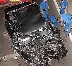 Princess Diana's crash