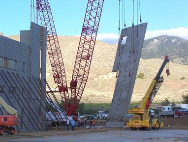 Tilt slab construction
