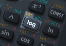 calculator button for logx 10x