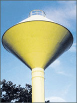 conical water storage